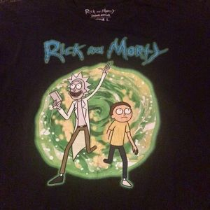 Rick and Morty Portal T-shirt